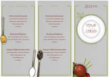 Trifold Takeaway Menu by chris