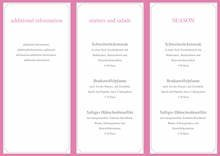 Menu Card Template  by chris - page 1