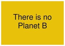 there-is-no-planet-b by chris