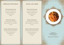 Restaurant Trifold Menu by chris - page 1