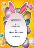 oster party flyer vorlage by chris