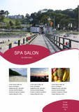 spa beauty hair styling care
