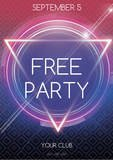 free party template