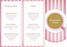 TriFold Cupcakes Menu by chris