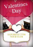 valentines Day Party Flyer by astra