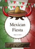 Mexican Fiesta Party Flyer by chris