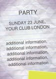 party-Flyer by chris