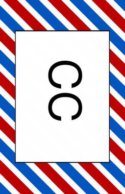 Business Card Visitenkarten Vorlage Für Friseur Oder Barbier