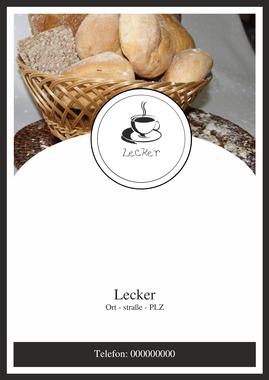 Speisekarten und Menükarten: Restaurant-Menü-Vorlage von chris