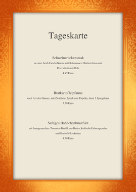 Menu Indian Restaurant Menu Template By Chris