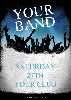 Flyer:Indie Band Flyer Template